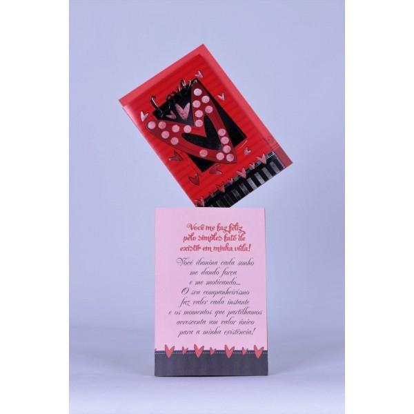 Cartão Mensagem Love Love