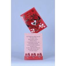 Cartão Mensagem Love Amo Você