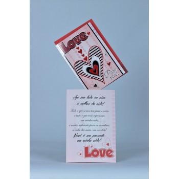 Cartão Mensagem Feliz Aniversário