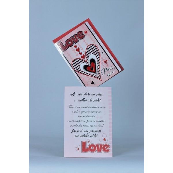 Cartão Mensagem Love pra Você