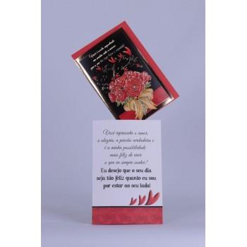 Cartão Mensagem Romântico