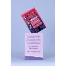 Cartão Mensagem Parabéns