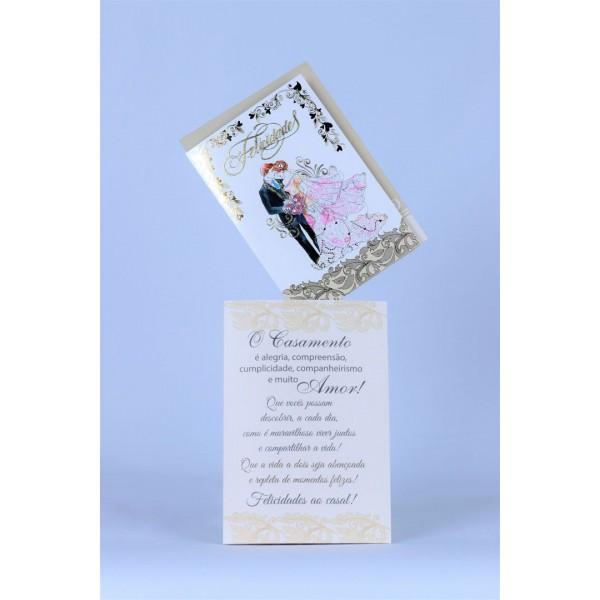 Cartão Mensagem Casamento