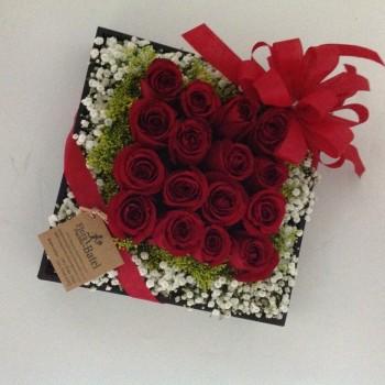Arranjo Rosas Romance