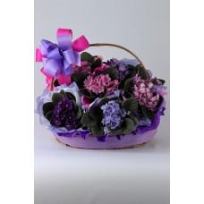 Cesta de Flores Gentileza