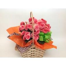 Cesta de Flores Begônia Carícia