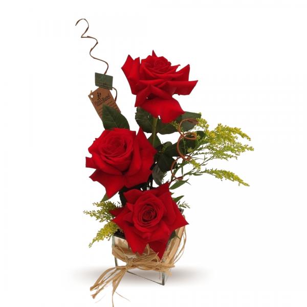 Arranjo Rosas Discreto