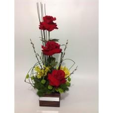 Arranjo Rosas Colombianas Love