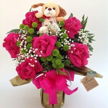 Buquê Rosa Êxito Love
