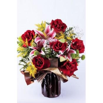 Buquê Rosas Colombianas Amor e Paixão