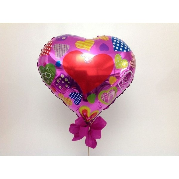Balão Corações