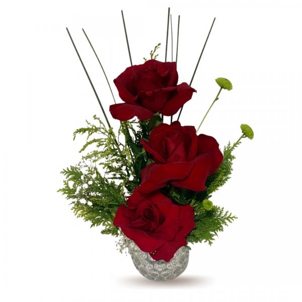 Rosas Vidro