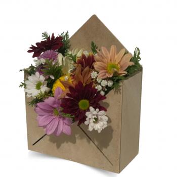 Arranjo Envelope Flor de Campo