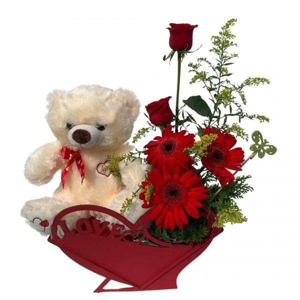 Caixa Flores LOVE