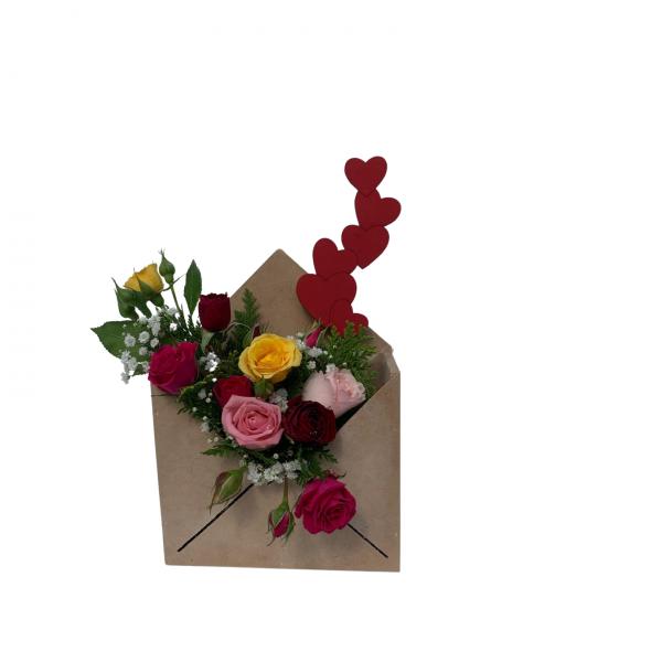 Envelope Mini Rosas