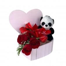 Caixa Rosa Panda