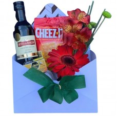 Envelope Flores Vinho