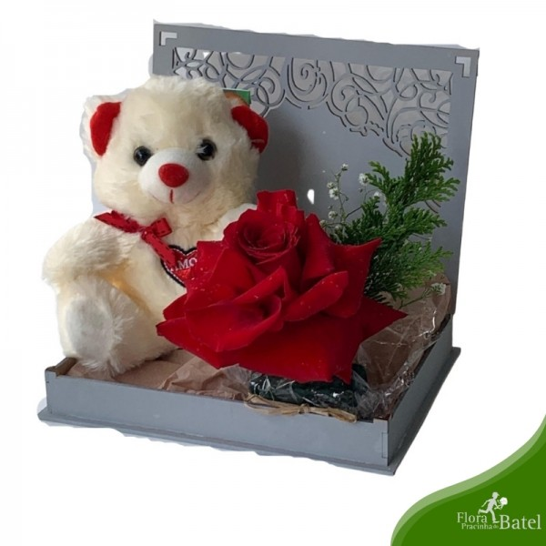 Caixa Rosa Amor