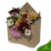 Arranjo Envelope Flor do Campo