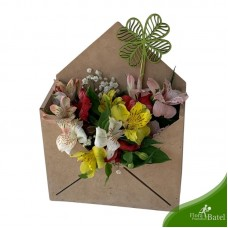 Envelope Flores Sorte